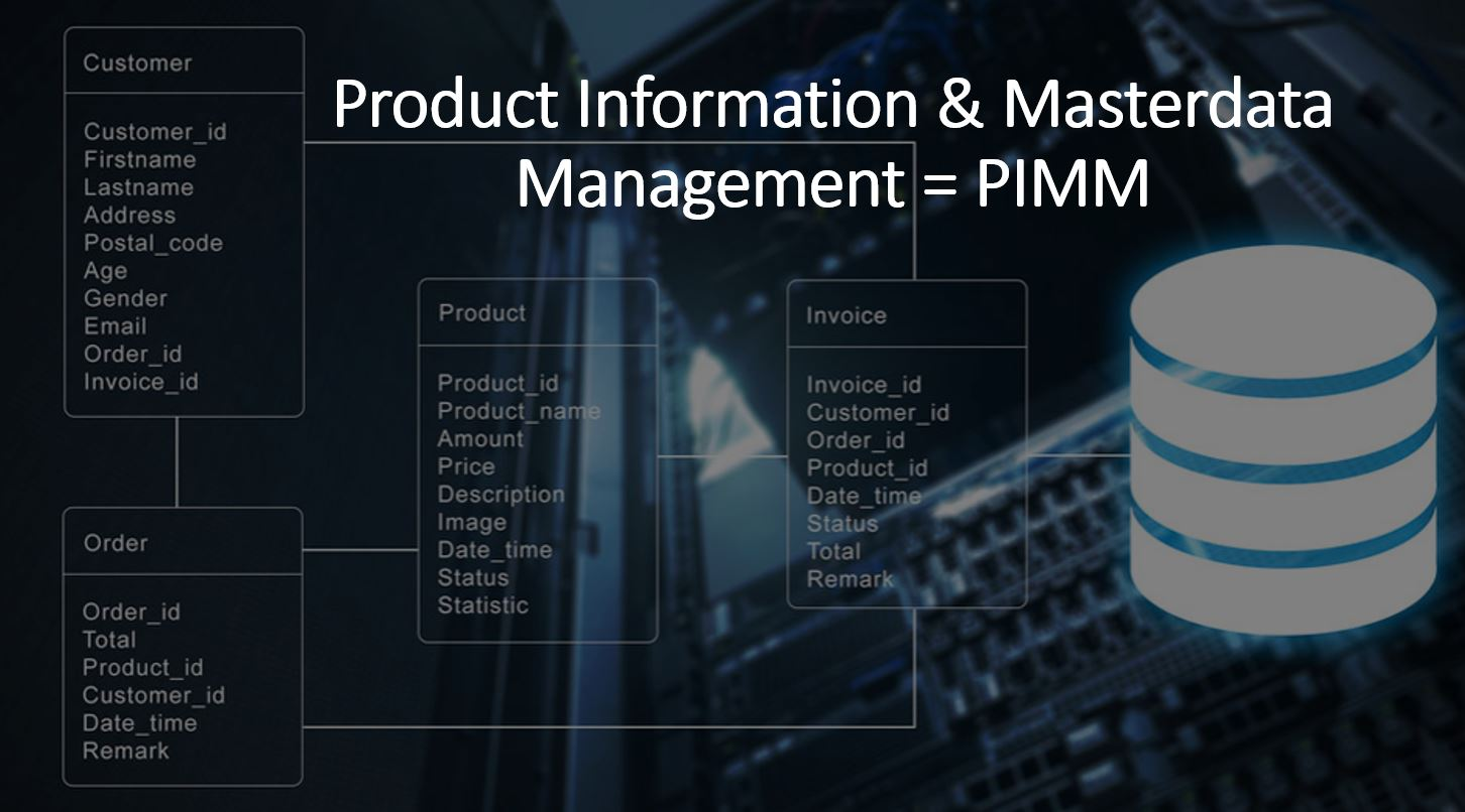Product Information en Masterdata Management PIMM